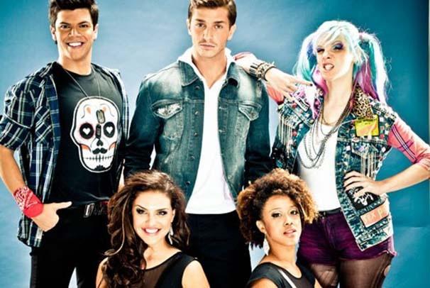 Parte do elenco da versão brasileira de 'Fame' (Foto: Gabriel Wickbold)