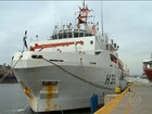 Navio da Marinha vai avaliar estragos da lama no mar do Espírito Santo