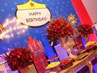 Veja detalhes da decoração da festa de 41 anos de Viviane Araújo