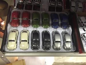 Miniaturas de carros também foram apreendidas em operações (Foto: Marcello Carvalho/G1)