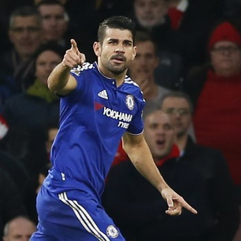 Diego Costa Chelsea Arsenal (Foto: Reuters)