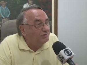 Prefeito de Cacoal Francisco Vialetto (Foto: Reprodução/ TV Cacoal)
