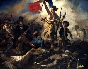 A Liberdade Guiando o Povo (1830) (Foto: Pintura: Eugène Delacroix/Reprodução)