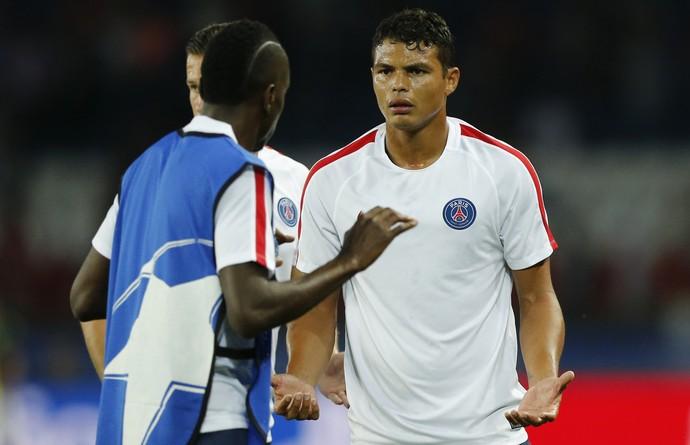 Thiago Silva PSG Arsenal (Foto: Reuters)