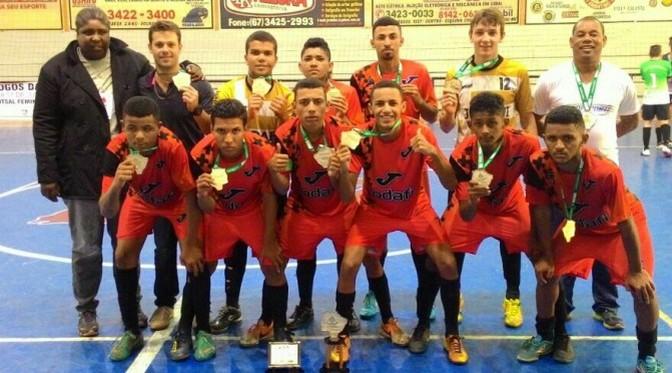 Campeões do futsal no Jojums garantem vagas em etapa nacional 5c64f1130b079