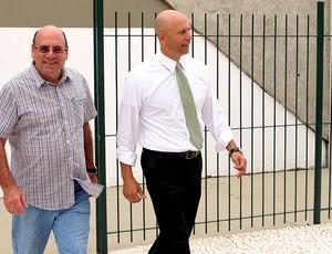 Omar Feitosa é o novo gerente de futebol do Palmeiras (Foto: Gustavo Serbonchini)