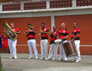 Banda charanga gávea flamengo (Foto: Janir Junior / Globoesporte.com)