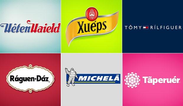 Publicitário curitibano recria marcas famosas para ajudar brasileiros na pronúncia correta (Foto: Divulgação)