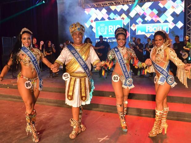 Corte do carnaval do Rio para o ano dos Jogos Olímpicos, em 2016 (Foto: Divulgação/ Riotur)