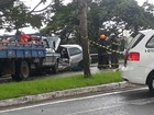 Acidente deixa sete feridos na avenida Sebastião Gualberto em São José, SP