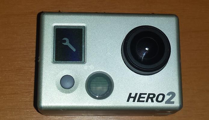 Avance pelos modos da câmera apertando P até chegar ao Menu de Configurações (Foto: Reprodução/Daniel Ribeiro)