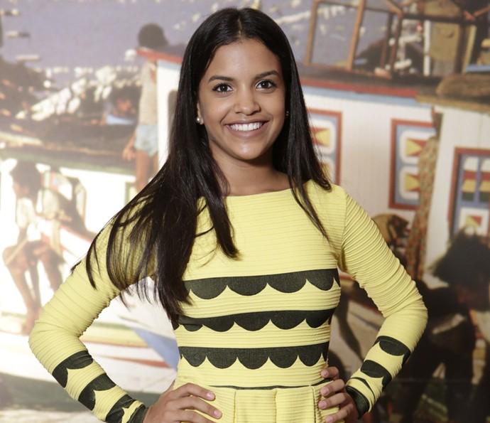 Rayza Alcântara diz estar muito realizada por interpretar Isabel  (Foto: Felipe Monteiro/Gshow )