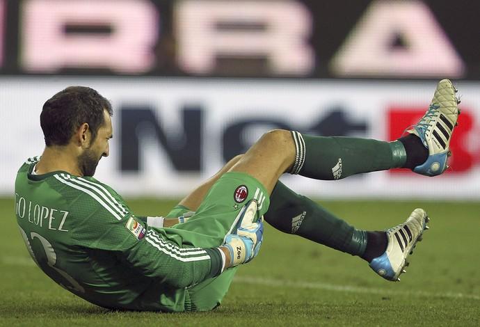 Diego López goleiro Milan (Foto: Getty)