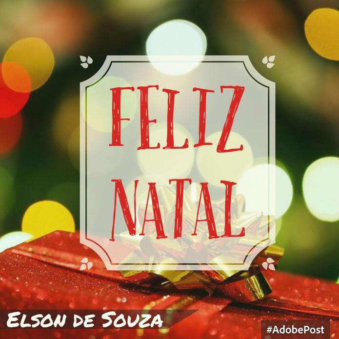 Adobe Post pode fazer cartões de Natal e outras ocasiões especiais no iPhone (Foto: Reprodução/Elson de Souza)