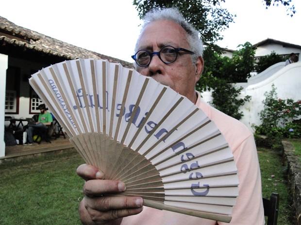 Processo criativo do músico Jards Macalé é foco do filme (Foto: Pedro Cunha / G1)