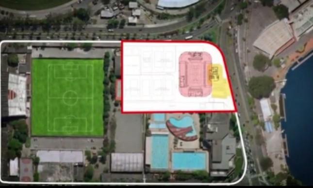 Arena multiuso na Gávea