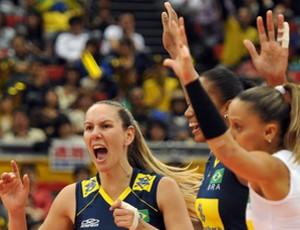 Jaqueline Fabiola vôlei brasil cuba (Foto: divulgação / FIVB)