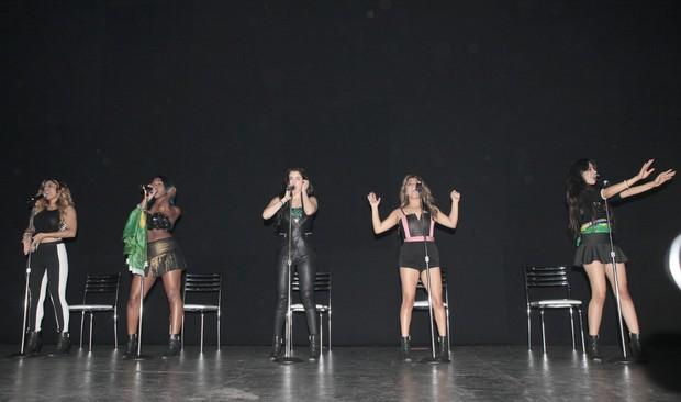 Show Fifth Harmony (Foto: Isac Luz / Ego)