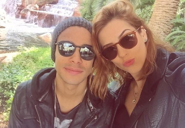Sergio Malheiros e Sophia Abraho. (Foto: Reproduo / Instagram)