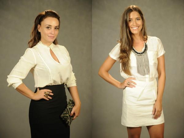 Suzana e Maria Joana (Foto: Renato Rocha Miranda/TV Globo)