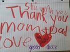 Pai acha bilhete de despedida após morte de filho de 6 anos nos EUA