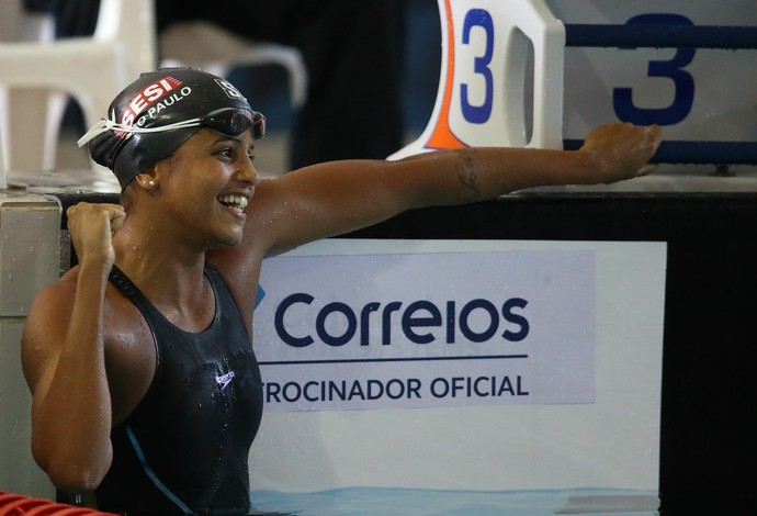 Etiene Medeiros, natação, Open (Foto: Satiro Sodré / SSPress / CBDA)