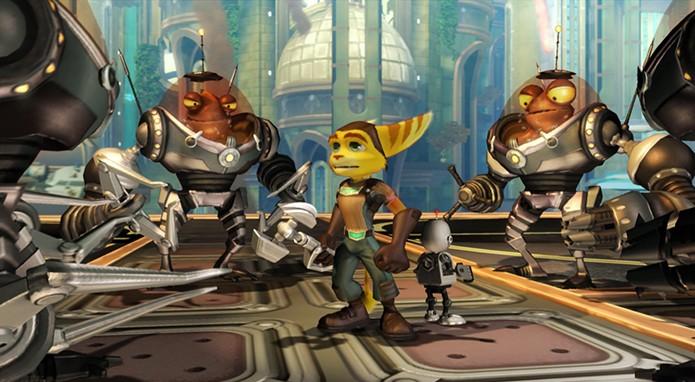 Ratchet & Clank (Foto: Reprodução)