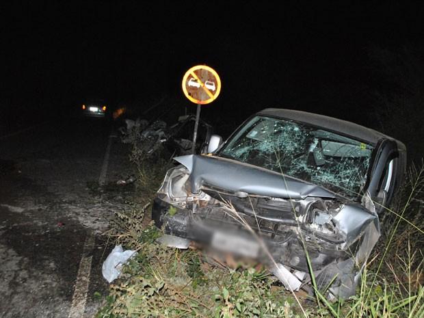 Uma mulher morre e seis pessoas ficam feridas em acidente na BA-263 (Foto: Anderson Oliveira/ Blog do Anderson)