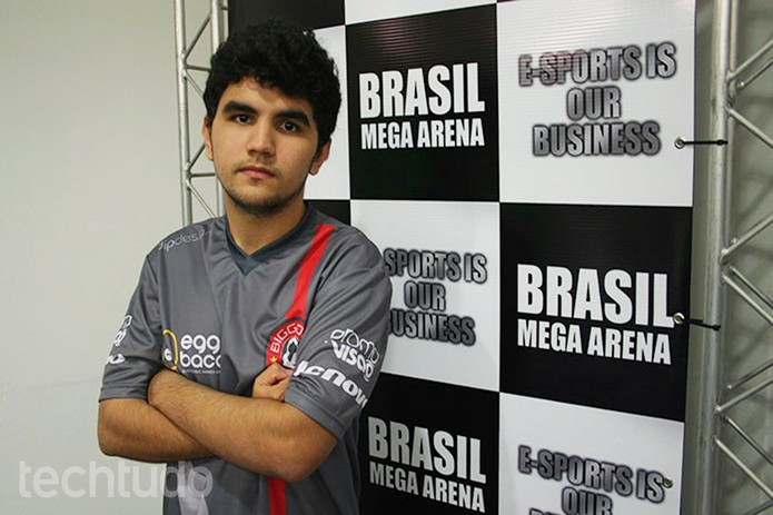 """João """"Zuao"""" é um dos jogadores que disputa o prêmio de League of Legends  (Foto: Felipe Vinha/TechTudo)"""