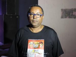 Coordenador do FestLuso, Francisco Pellé (Foto: Ellyo Teixeira/G1)