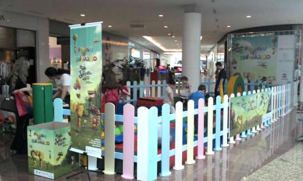 No início do mês, já haviam sido realizadas atividades recreativas com o objetivo de arrecadar brinquedos no local (Foto: Clarissa Soletti/RBS TV)