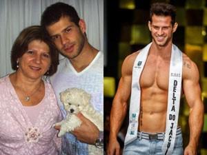 Reinaldo Dalcin nem sonhava em virar Mister (Foto: Arquivo Pessoal)