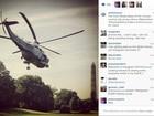 Casa Branca inaugura perfil no Instagram com foto de helicóptero