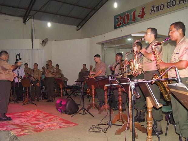 Banda se apresentou para cerca de 600 pessoas (Foto: Cleilson Sales/Arquivo Pessoal)