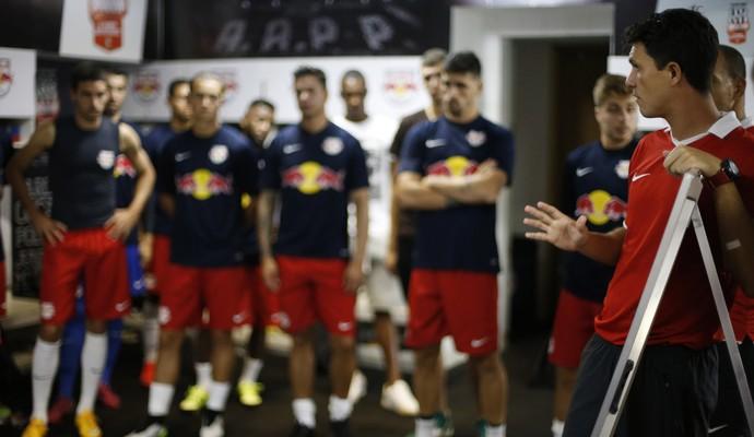 Mauricio Barbieri técnico RB Brasil (Foto: Divulgação / Red Bull Brasil)