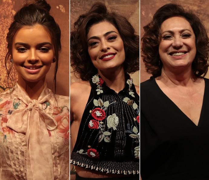 Gabriella Mustafá, Juliana Paes e Eliane Giardini vivem Zana, em 'Dois Irmãos' (Foto: Isabella Pinheiro/ Gshow)