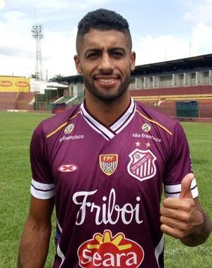 Fabinho Capixaba Sertãozinho (Foto: Vinicius Alves / Sertãozinho FC)