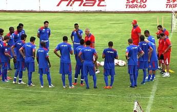 Wendell Lira, Rhuan e Paulo Vitor fora do jogo desta quarta com o Anápolis