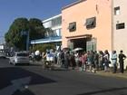 Tupã distribui senhas na retomada de vacinação contra a gripe