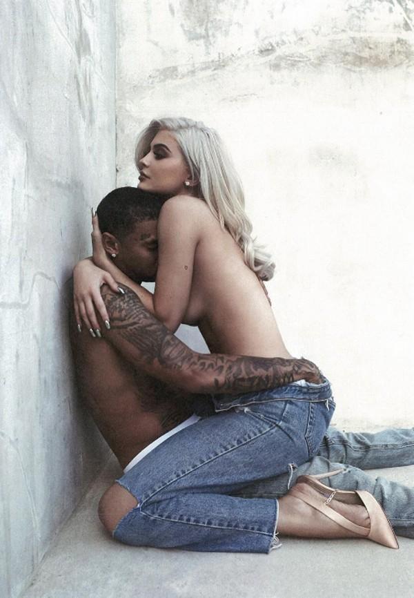 Kylie Jenner e e Tyga (Foto: Reprodução / Instagram)