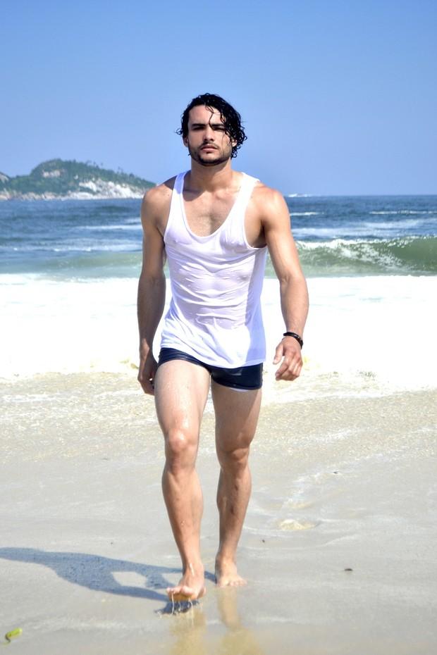 Ricardo Castro - candidato Mister Universo Cidade do Rio (Foto: Dan Nascimento / DGN Assessoria)