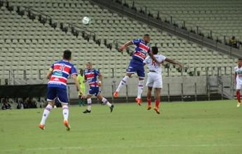 Fortaleza cede empate para o River-PI e tropeça no Castelão vazio na estreia