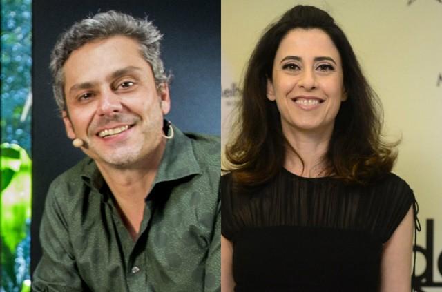 Alexandre Nero e Fernanda Torres (Foto: TV Globo)