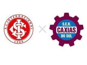 Inter e caxias (Foto: Reprodução/RBS TV)
