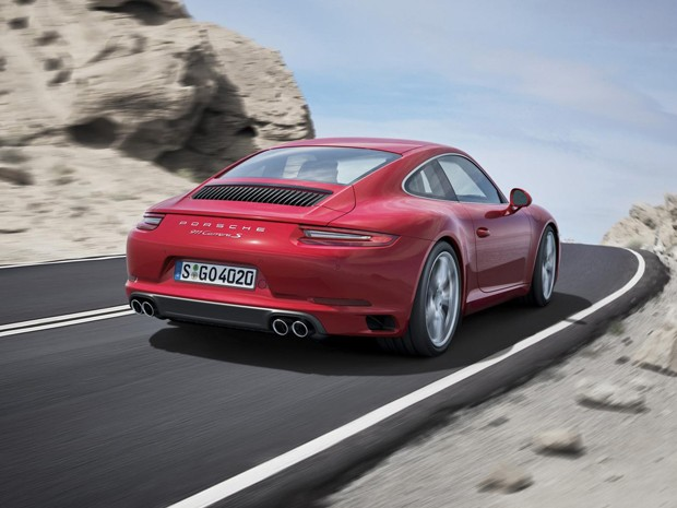 Novo Porsche 911 Carrera (Foto: Divulgação)