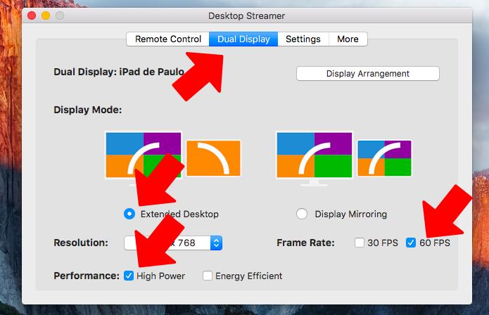 Ative a extensão do display com desempenho máximo (Foto: Reprodução/Paulo Alves)