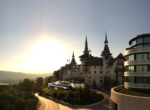 The Dolder Grand, na Suíça   (Foto: Reprodução/hotelnews traveller)