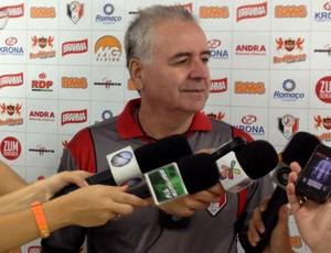 Paulo Cesar Santos, preparador do Joinville (Foto: Divulgação/JEC)