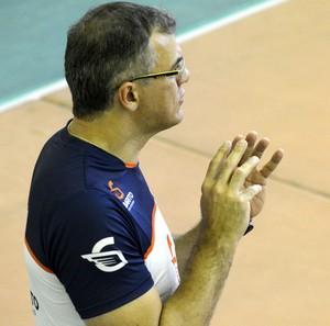 Manoel Honorato técnico vôlei masculino Uberlândia (Foto: Manoel Honorato/Arquivo Pessoal)