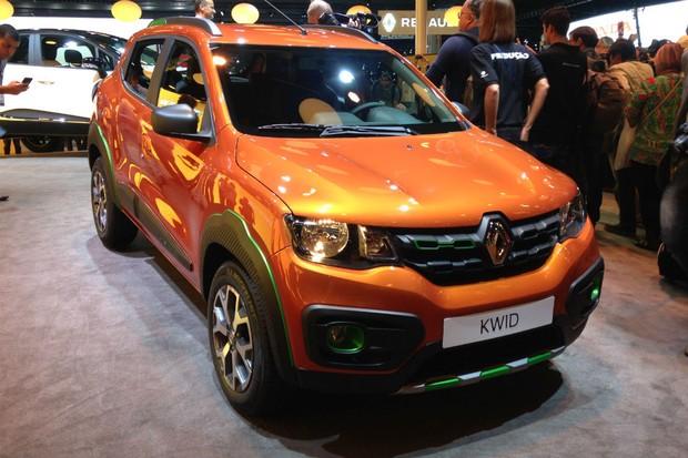 O estilo do Kwid é aventureiro ao ponto de ser chamado de SUV pela Renault (Foto: Julio Cabral/Autoesporte)